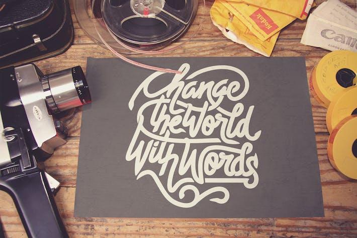Thumbnail for Horizontal Poster Mockup