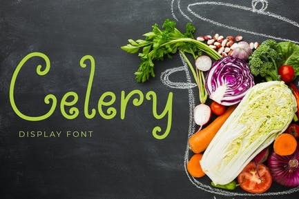 Celery Display Font