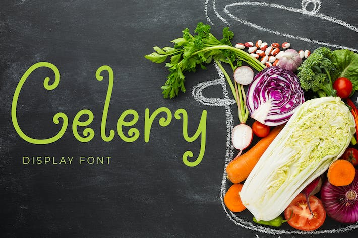 Celery Display Font