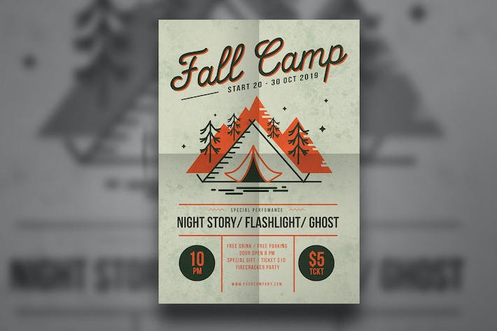 Thumbnail for Fall Camp Flyer