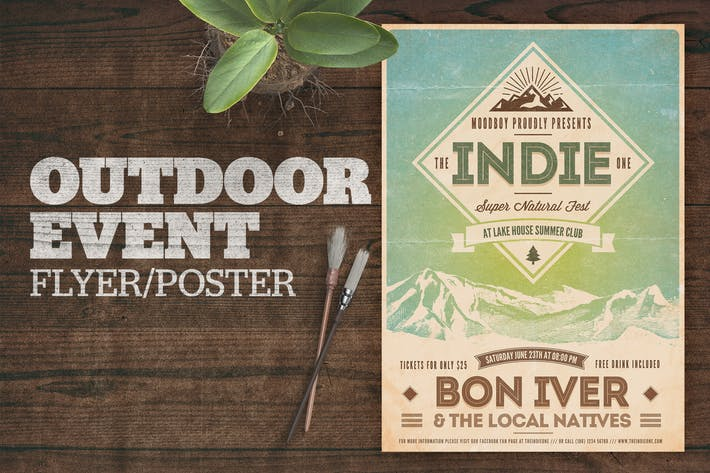 Cover Image For Outdoor Event Poster