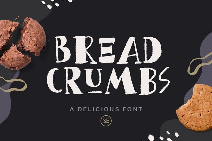 Thumbnail for Bread Crumbs - Delicious Font