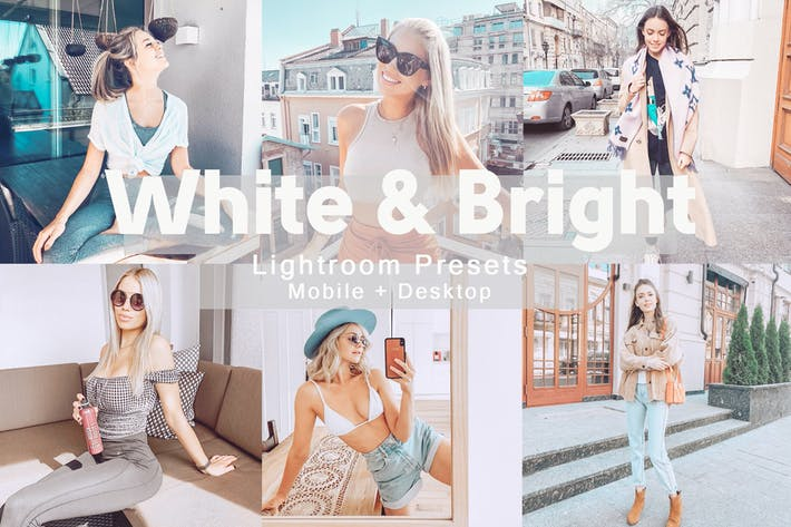 Thumbnail for White&Bright - Lightroom Presets