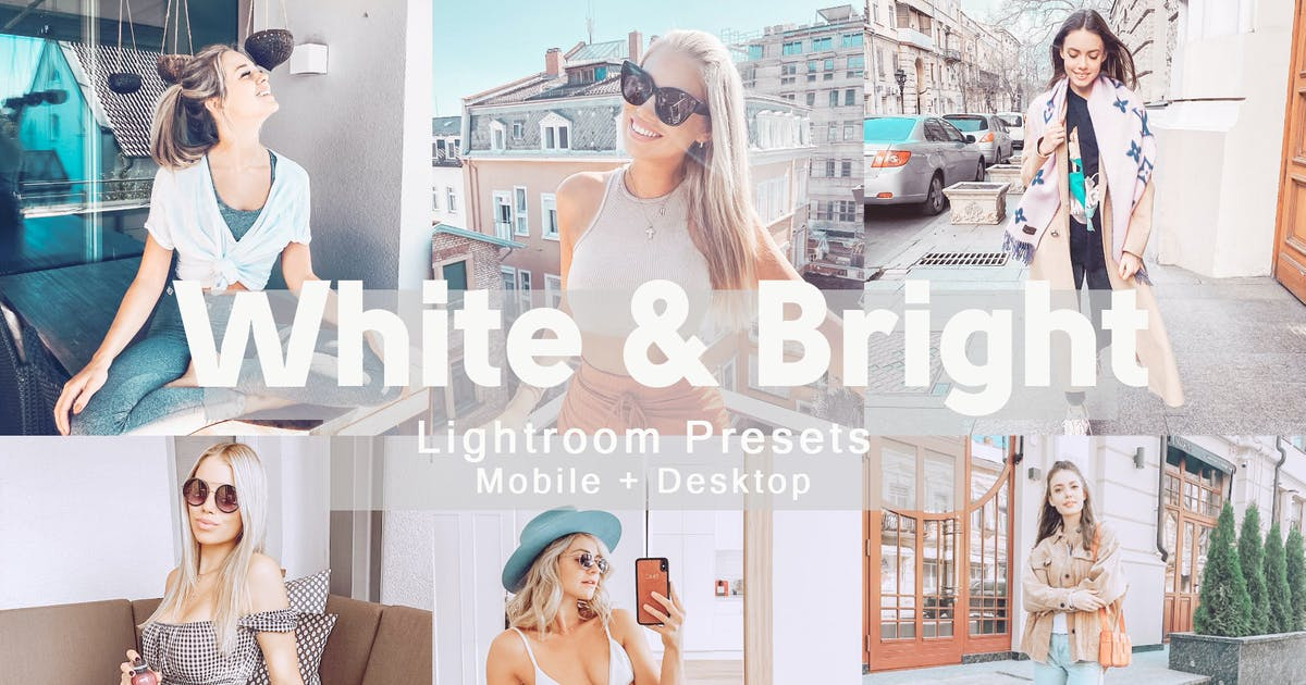 Download White&Bright - Lightroom Presets by allanthedp