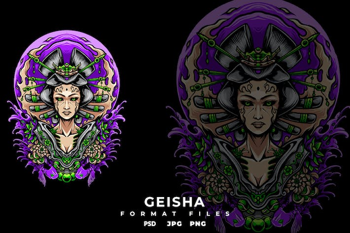 Cover Image For Geisha