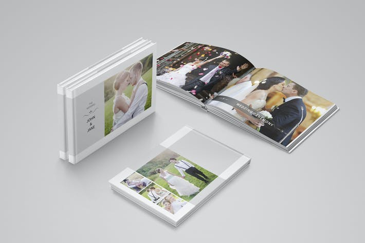 Thumbnail for Modern Wedding Album Template