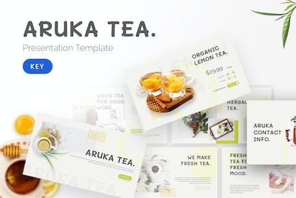 Чай Арука - Шаблон Keynote