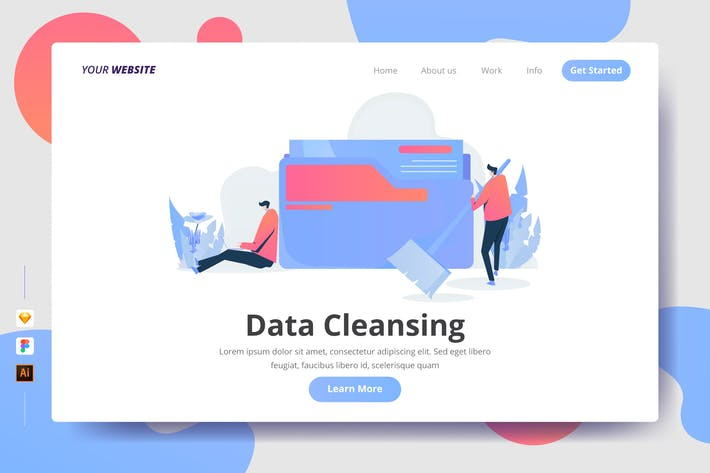 Cover Image For Data Cleansing - Landing Page