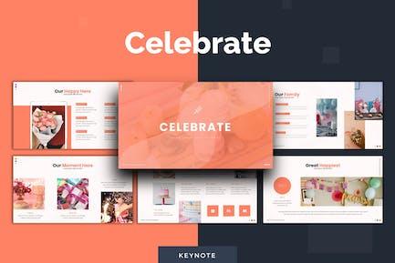 Celebrate - Keynote Template