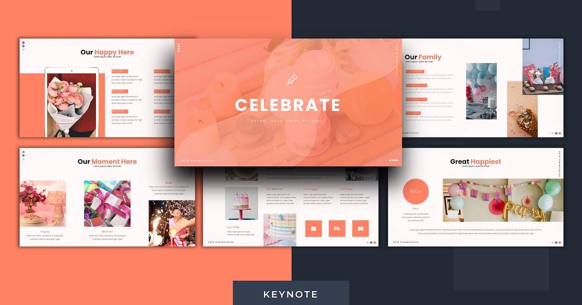 Download Celebrate - Keynote Template by karkunstudio