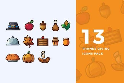 13 Спасибо, давая Иконки пакет