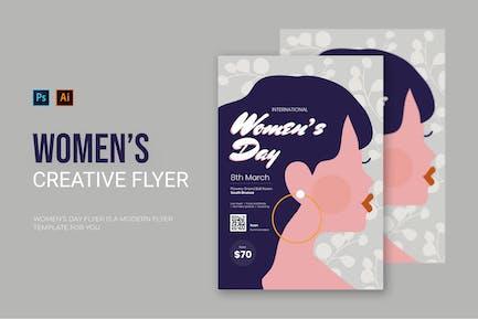 Women's Day - Flyer