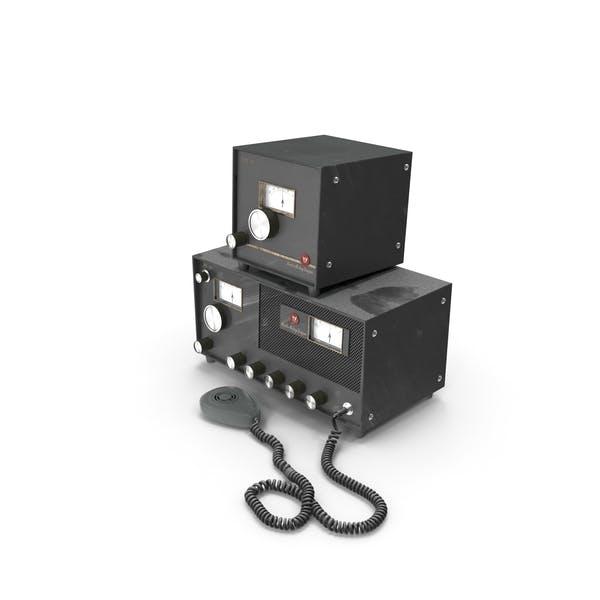 Старое релейное радио