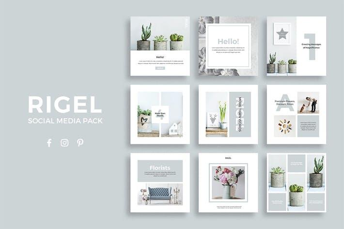 Thumbnail for Rigel Social Media Pack