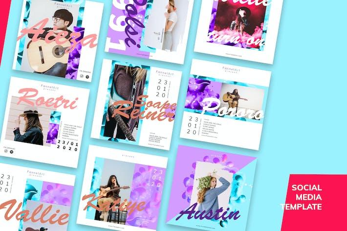 Thumbnail for Social Media Kit Music