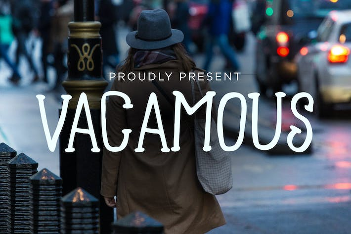 Thumbnail for Vacamous Typeface