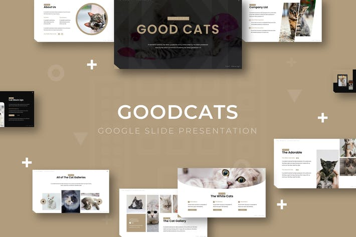 Thumbnail for Good Cat - Google Slide Template
