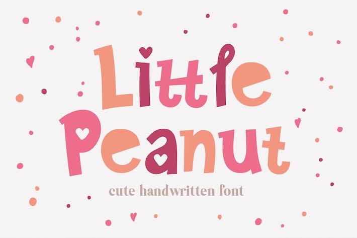 Thumbnail for Little Peanut Font