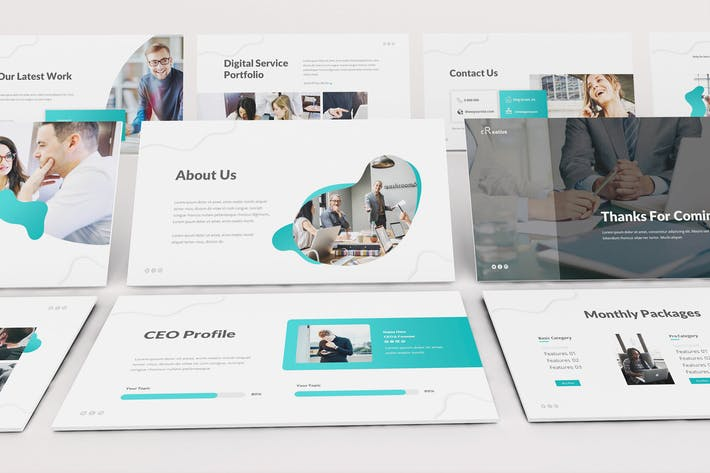 Thumbnail for Creative Agency Keynote Template