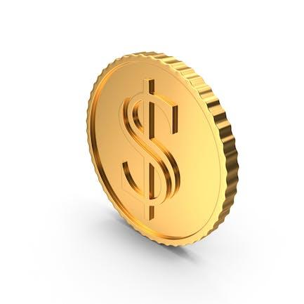 Gold Coin Dollar