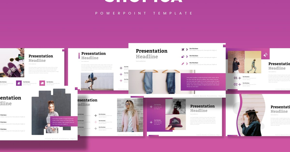 Download Shopica - Powerpoint Template by aqrstudio