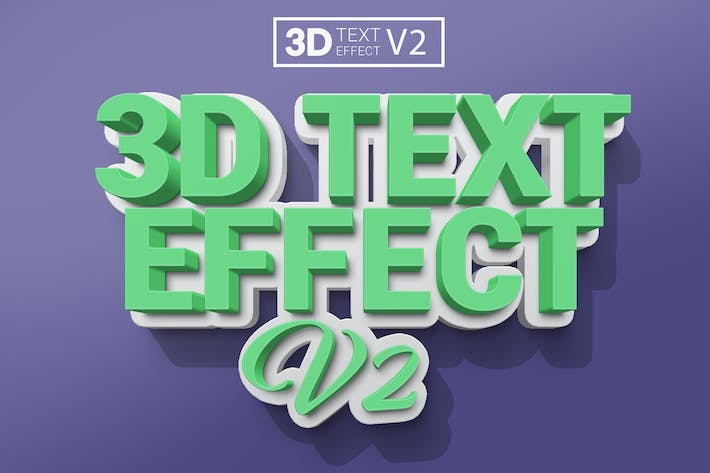 Thumbnail for 3D текстовые эффекты V2