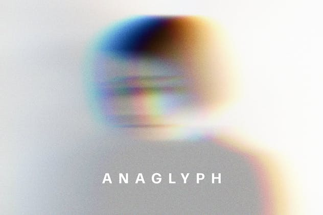 Anaglyph VHS Photo Effect - product preview 0