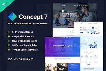 Concept Seven - Multipurpose WordPress Theme