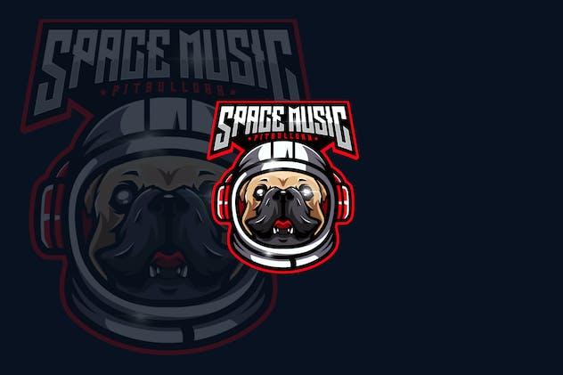 Space Music eSports Gaming Logo