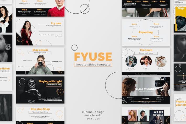 Thumbnail for Fyuse Google Slides Presentation Template