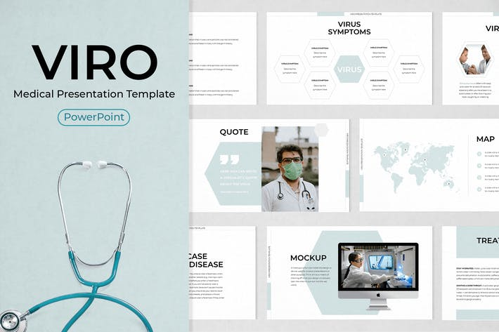 Thumbnail for Medical PowerPoint Template Presentation