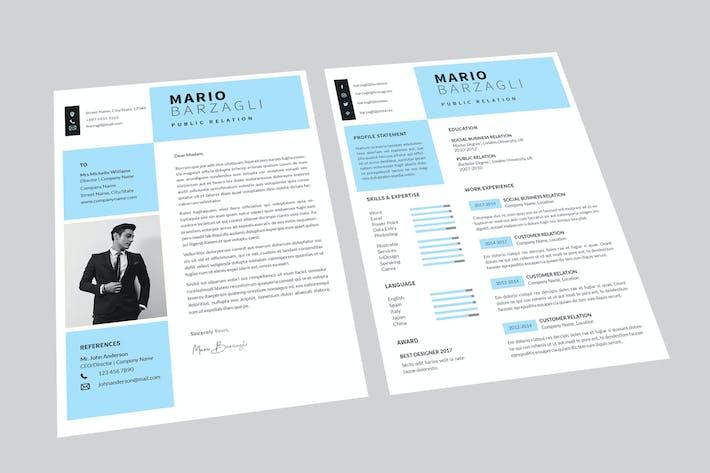 Cover Image For Mario Public Resume Designer