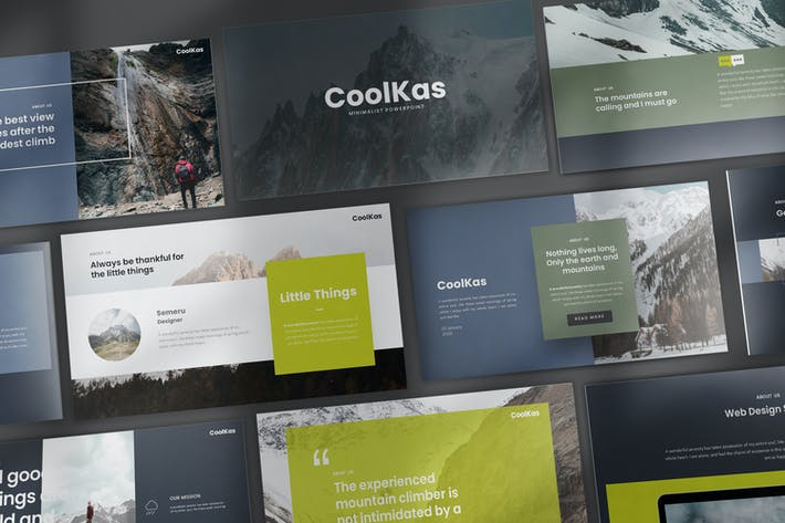 Thumbnail for CoolKas Google Slides Templates
