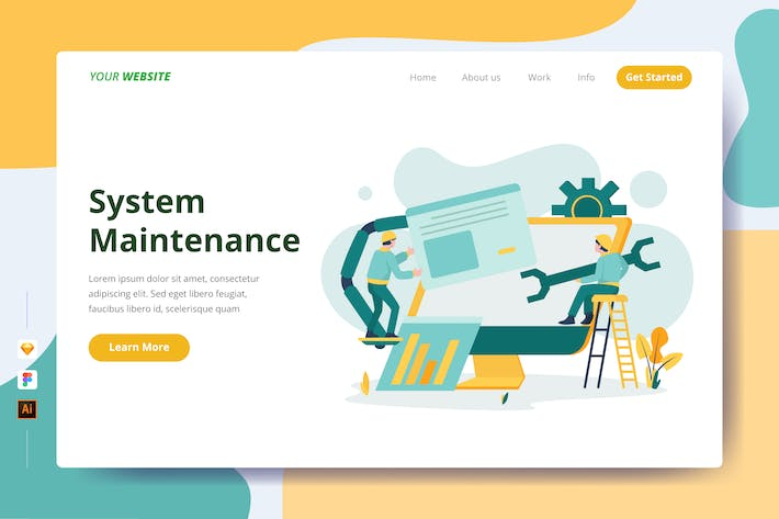 Thumbnail for System Maintenance - Landing Page