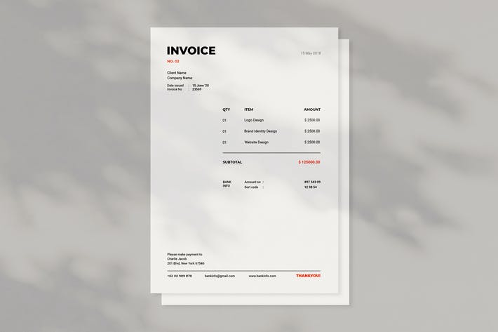 Thumbnail for Invoice