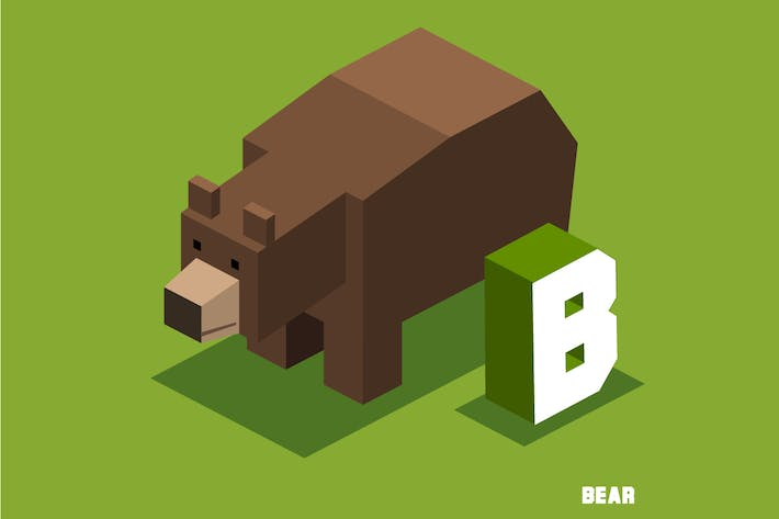 Thumbnail for B for Bear Animal Alphabet