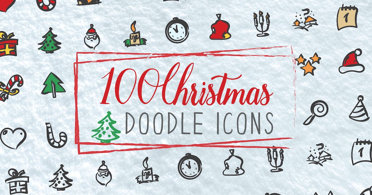 Download 100 Christmas Doodle Icons by iconsoul