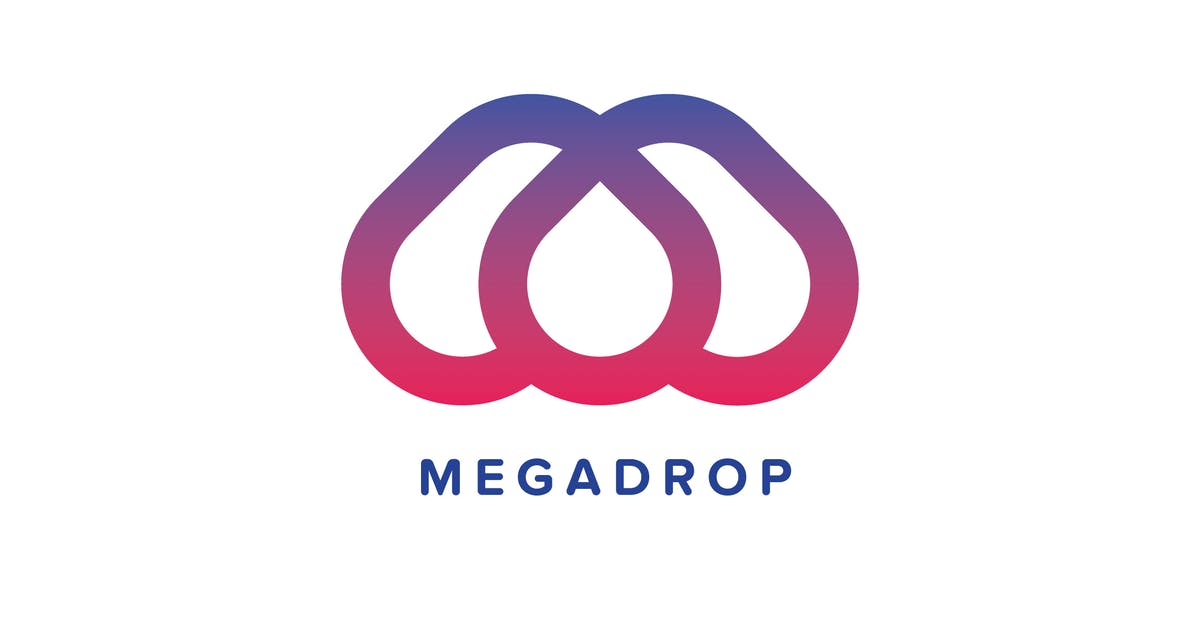 Download Mega Drop Logo Template by Pixasquare