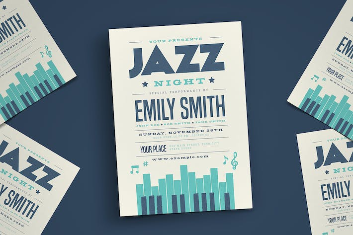 Thumbnail for Jazz Piano Concert Flyer