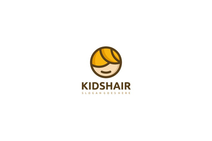 Cover Image For Kid Hair Logo