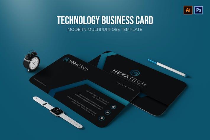 Technology - Business Card