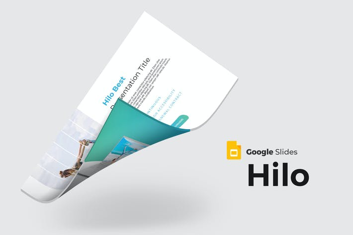 Thumbnail for Hilo - Google Slides Template