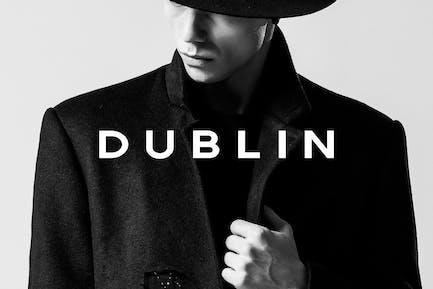 DUBLÍN - Pantalla mínima/Tipo de titular