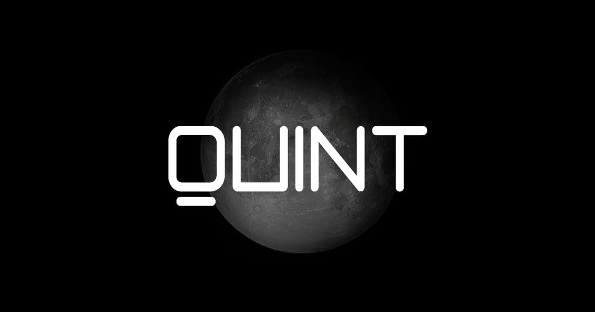 Download QUINT - Unique Techno / New Age Display Typeface by designova