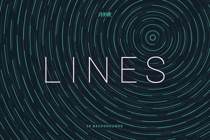 Thumbnail for Lines | Abstract Colorful Twirl Backgrounds