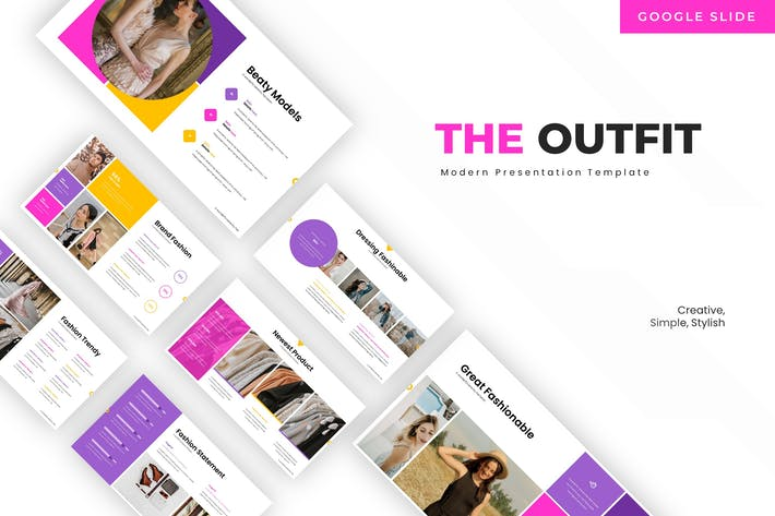 Thumbnail for The Outfit - Google Slide Template
