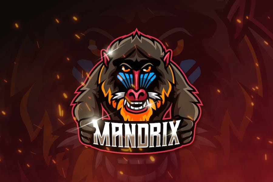 MANDRIX - Mascot & Esports Logo