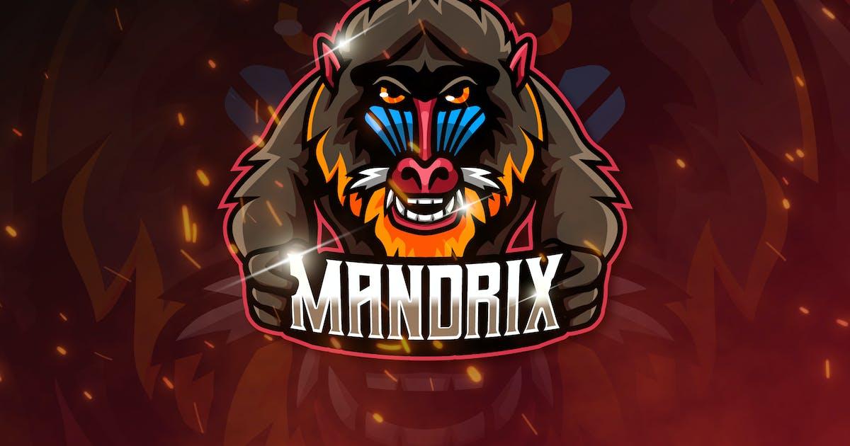 Download MANDRIX - Mascot & Esports Logo by aqrstudio