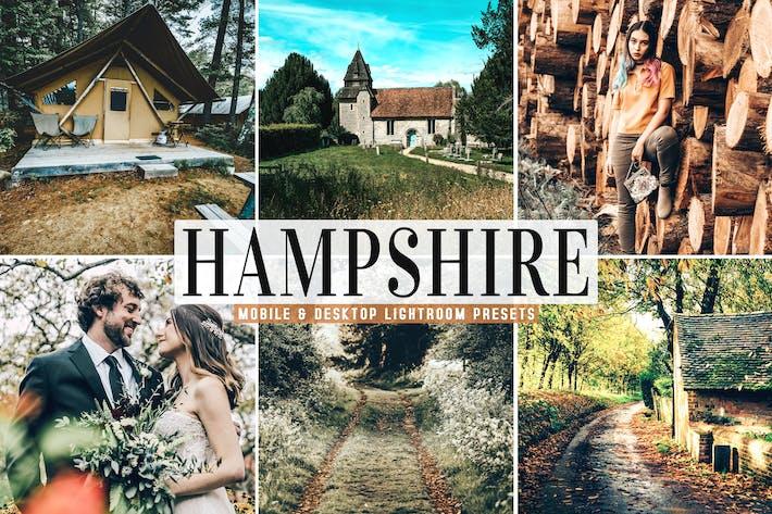 Thumbnail for Hampshire Mobile & Desktop Lightroom Presets