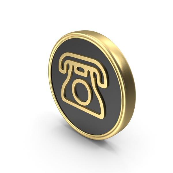 telefon münzlogo symbol